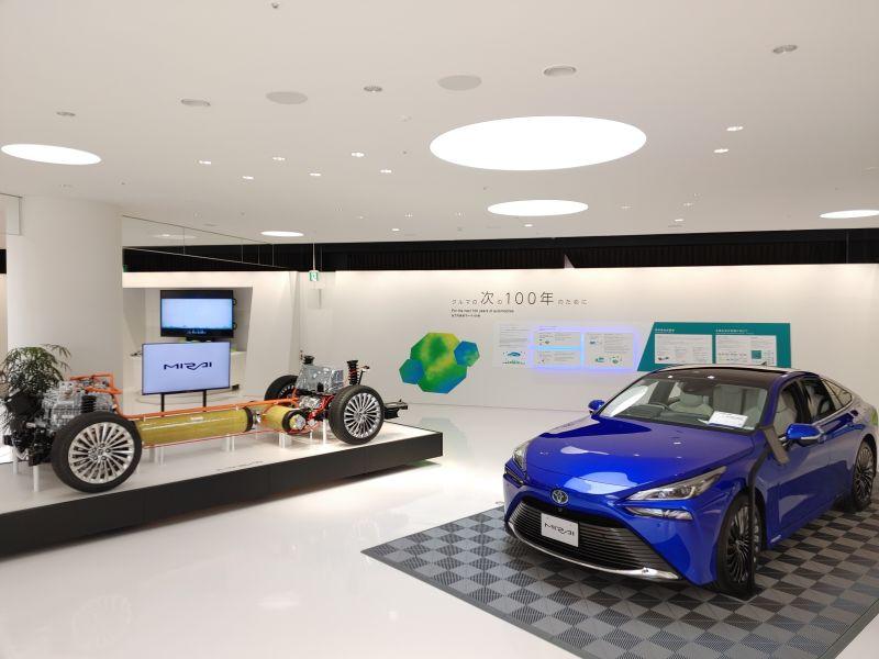 bảo tàng trưng bày xe hơi toyota ở tỉnh Aichi