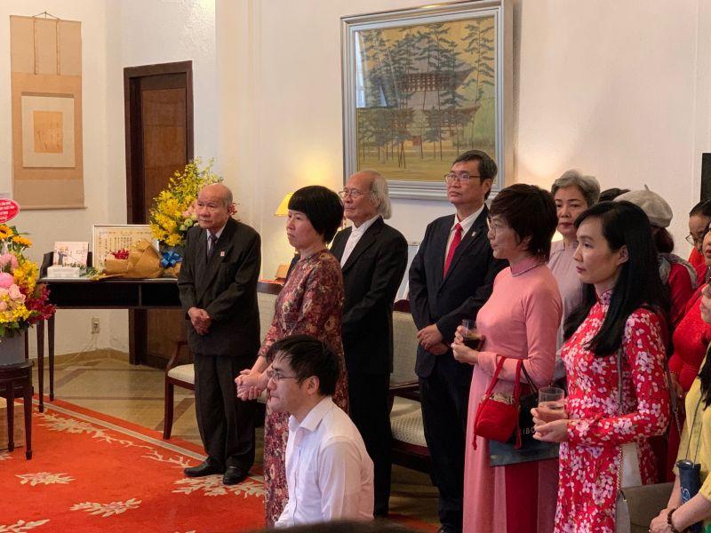 Nguyễn Công Tánh nhận bằng khen của Bộ Ngoại giao Nhật Bản