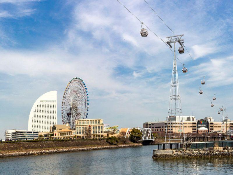 cáp treo đô thị đầu tiên của Nhật Bản