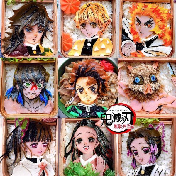 bento hình nhân vật anime