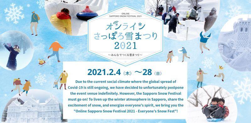 ngắm Lễ hội Tuyết Sapporo qua mạng internet
