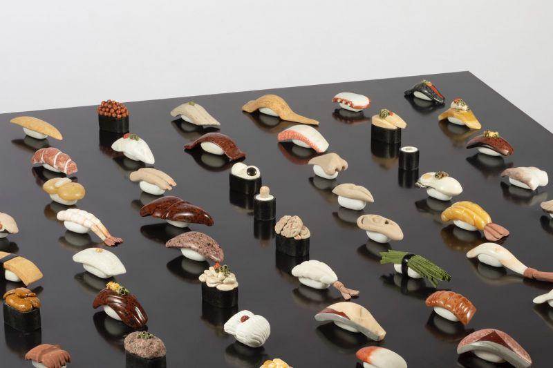 sushi được tạo ra từ đá