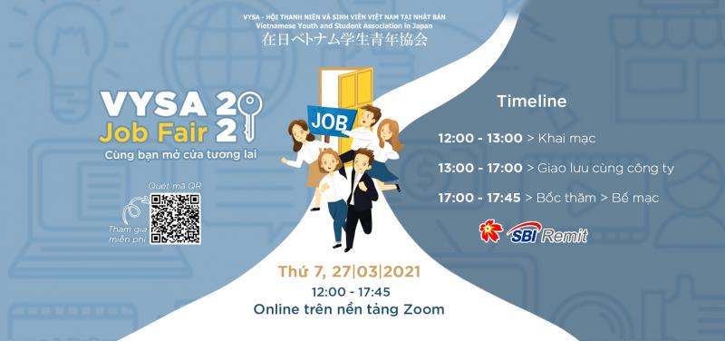 hội chợ việc làm dành cho người Việt VYSA Job Fair 2021