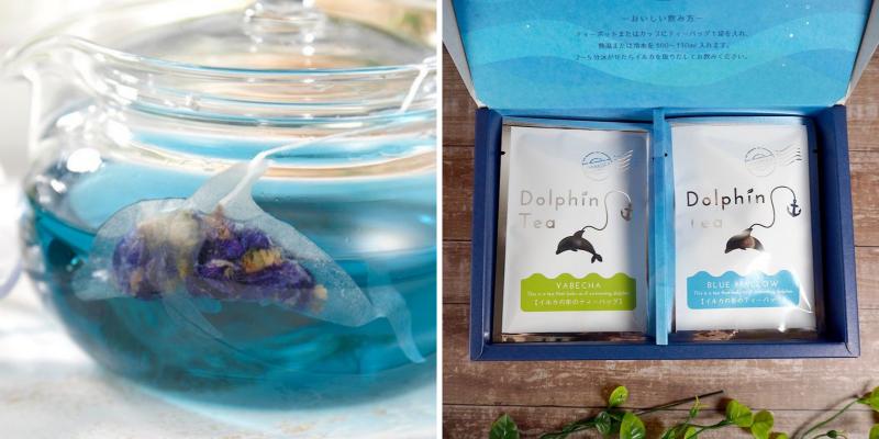 ocean tea bag đại dương thu nhỏ bên trong tách trà