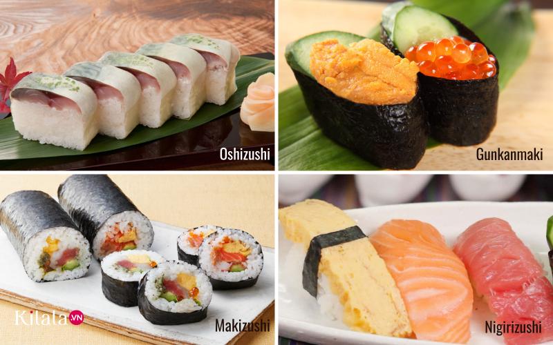 cách ăn Sushi đúng chuẩn