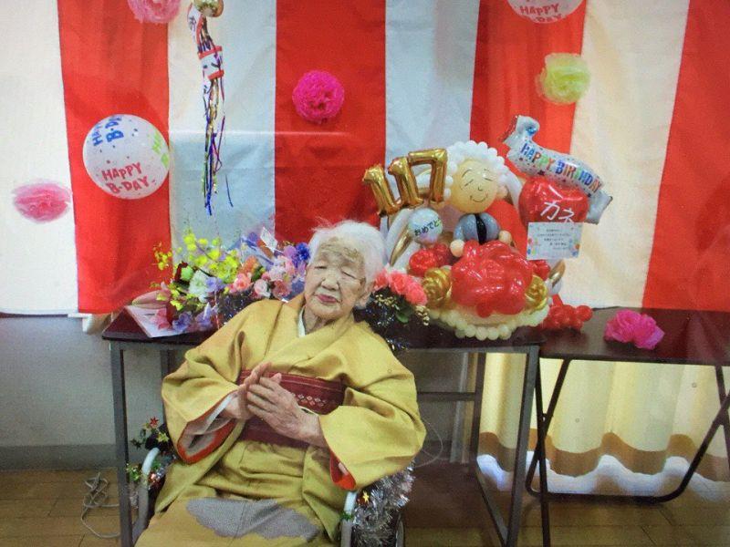cụ bà rước đuốc Olympic Tokyo ở tuổi 118 là ai