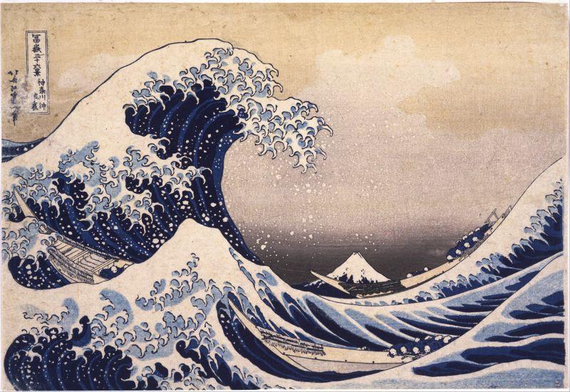 những sự thật về bức tranh sóng lừng ngoài khơi Kanagawa