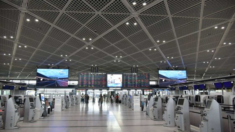 sân bay áp dụng hệ thống nhận diện khuôn mặt