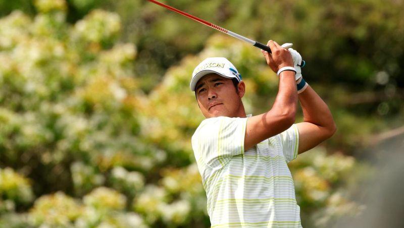 hideki matsuyama tay golf Nhật đầu tiên vô địch the masters