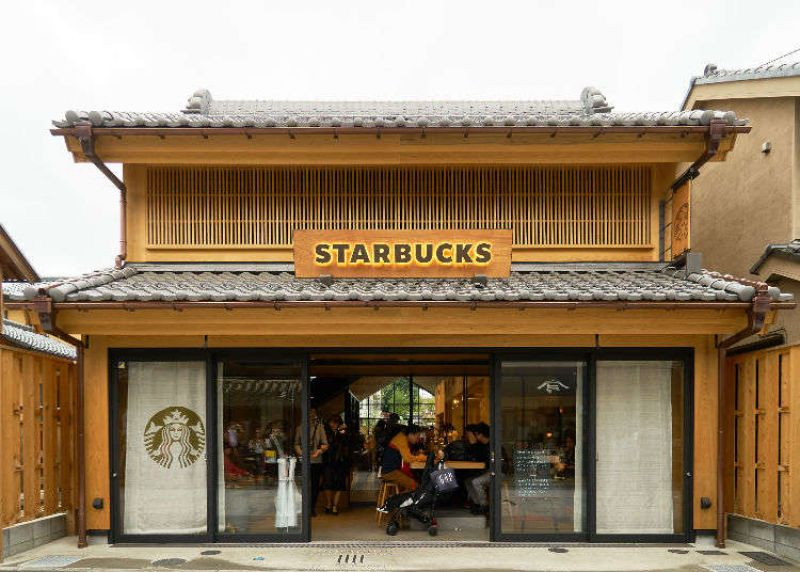 Starbucks Nhật Bản sử dụng cốc giấy cho đồ uống lạnh