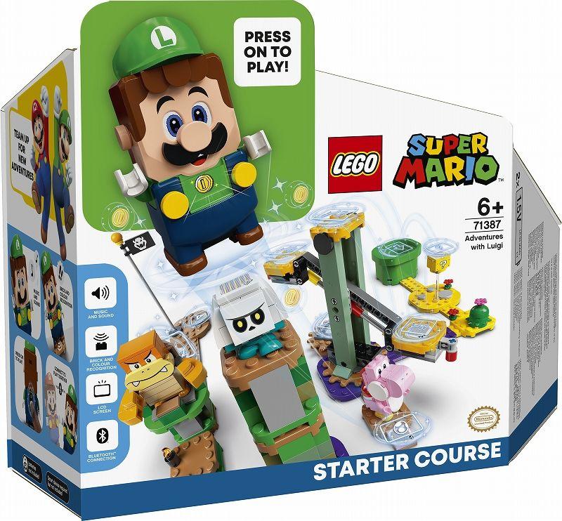 Nhật Bản là thị trường đầu tiên ra mắt bộ Lego Luigi