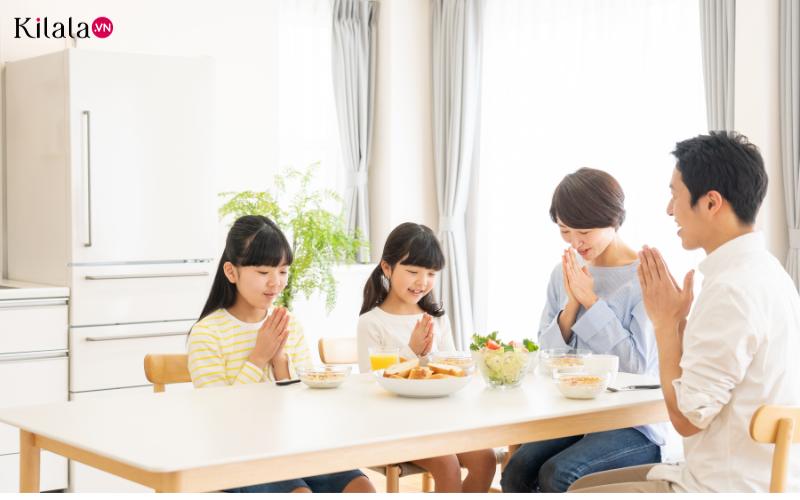 vì sao người Nhật nói lời cảm ơn trước và sau bữa ăn