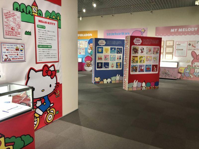 triển lãm kỷ niệm hành trình 60 năm của nhà Sanrio