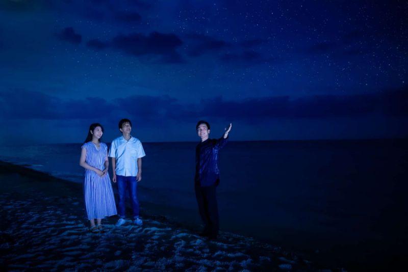 trải nghiệm chuyến picnic ngắm dải ngân hà trên đảo okinawa