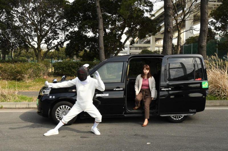 dịch vụ Fencer Taxi Nhật Bản lấy ý tưởng từ kiếm đạo