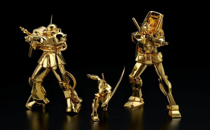 mô hình gundam bằng vàng