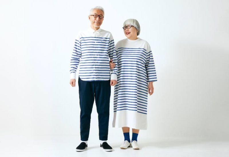vợ chồng Nhật U60 trở thành người mẫu cho sunny clouds
