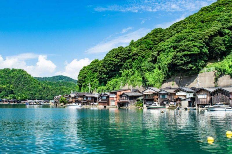 làng chài Ine no Funaya và vẻ yên bình hớp hồn du khách
