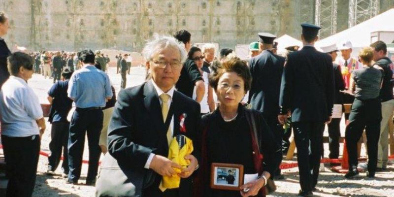 người đàn ông Nhật gây quỹ xuất bản báo cáo về ngày 11/9