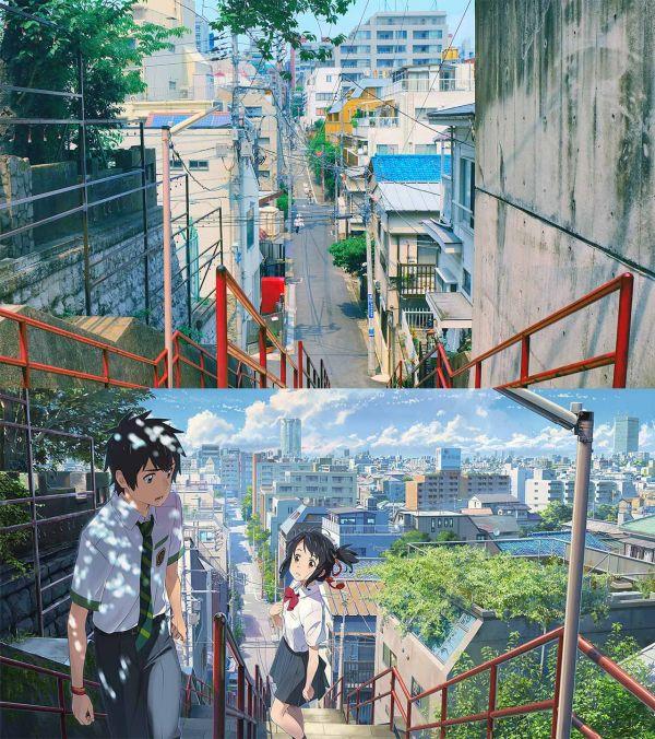 10 địa danh Nhật Bản có thật trong anime