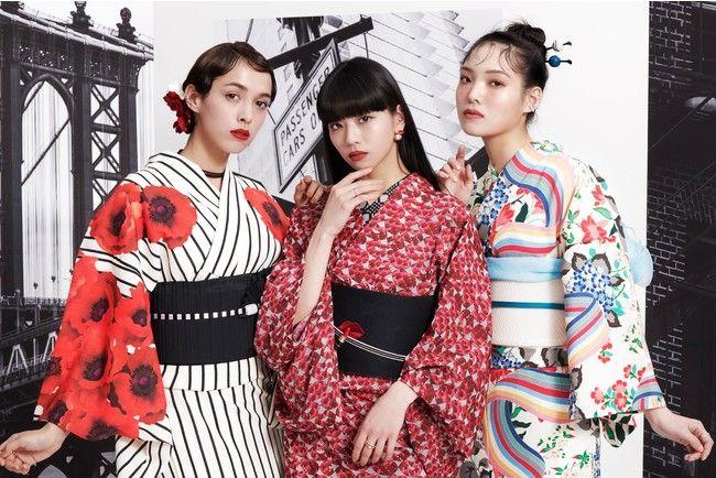 maybelline và furifu ra mắt bst mỹ phẩm kết hợp yukata