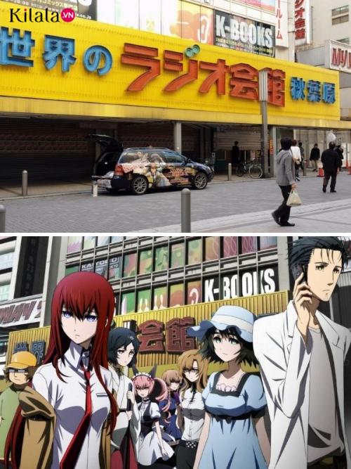 những địa danh Nhật Bản có thật trong anime
