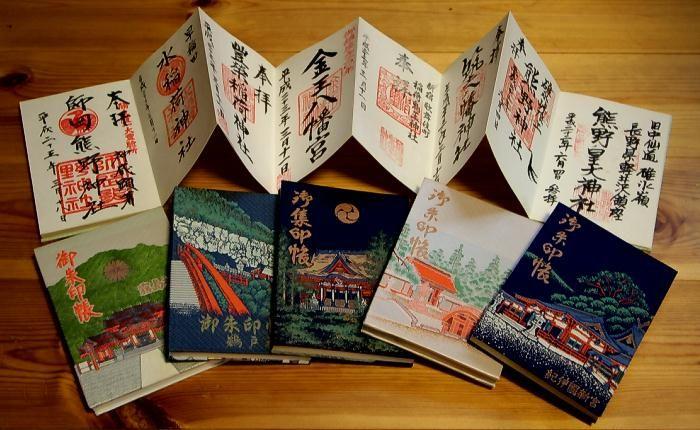 goshuincho cuốn sổ lưu giữ dấu ấn linh thiêng
