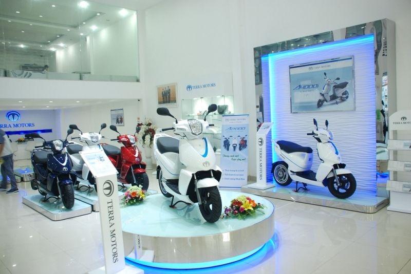 Terra Motors ra mắt xe máy điện