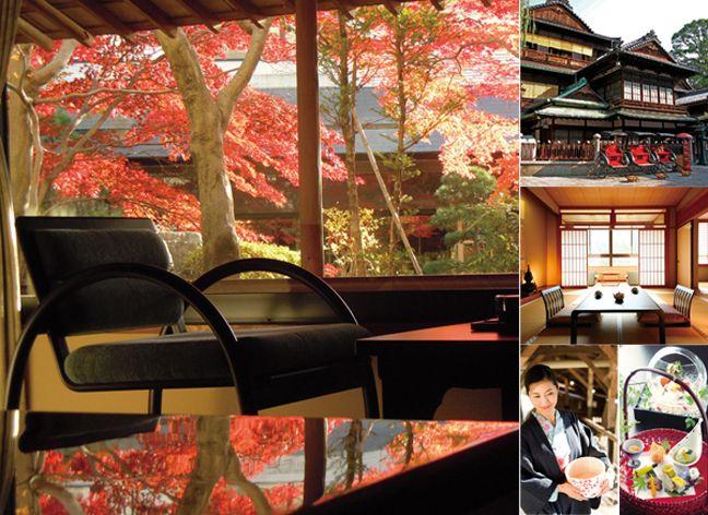 nghỉ một đêm tại Ryokan